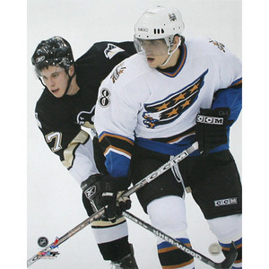 Sidney Crosby & Alexander Ovechkin Rookie Year 16X20 Photo (Pittsburgh Penguins, Washington Capitals)