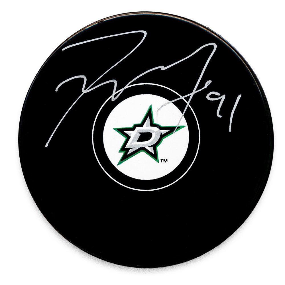 Tyler Seguin Dallas Stars Autographed Puck