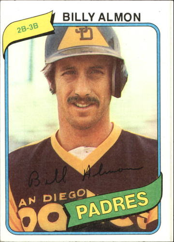 Photo of 1980 Topps #436 Billy Almon
