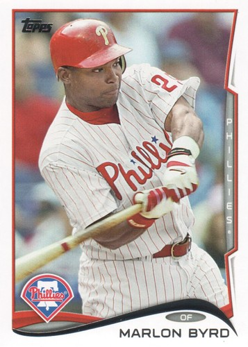 Photo of 2014 Topps #484 Marlon Byrd