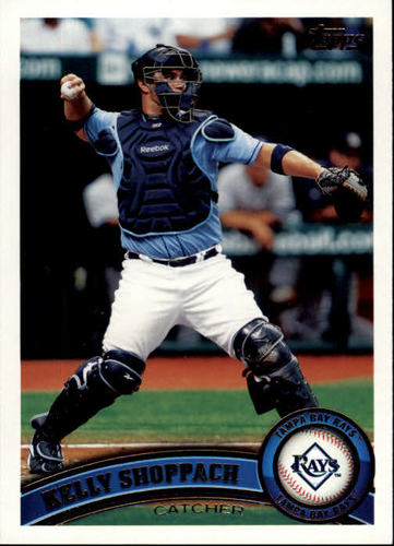 Photo of 2011 Topps #514 Kelly Shoppach