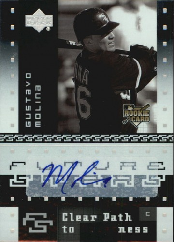 Photo of 2007 Upper Deck Future Stars #144 Gustavo Molina AU RC