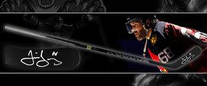 Jaromir Jagr Florida Panthers Reebok TriMatrix 23K Game Model Signed Stick