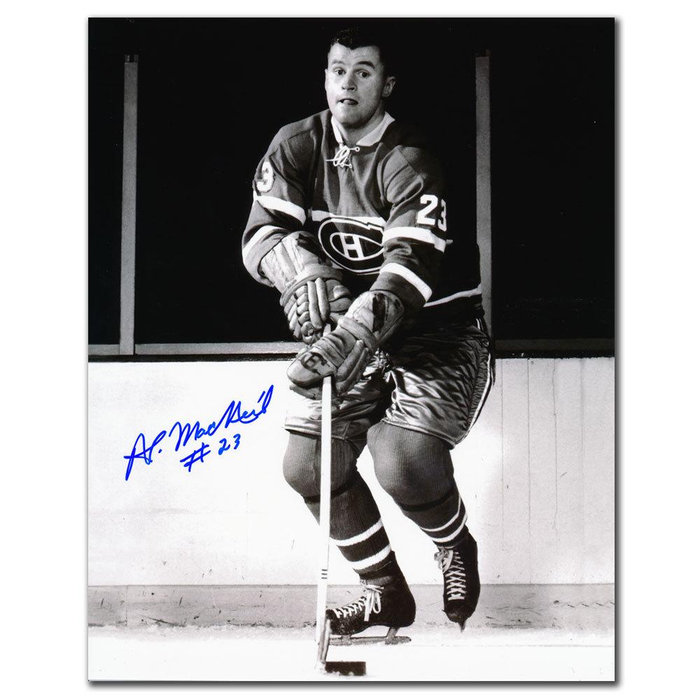 Al MacNeil Montreal Canadiens Autographed 8x10