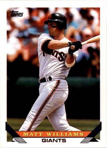 Photo of 1993 Topps #225 Matt Williams
