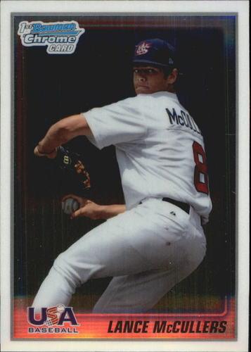 Photo of 2010 Bowman Chrome USA Stars #USA10 Lance McCullers -- Astros post-season