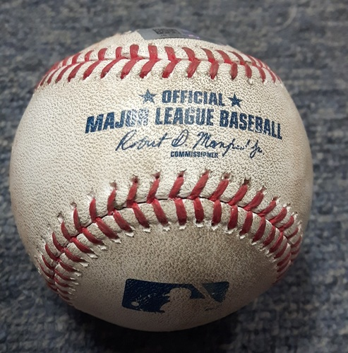 Photo of Authenticated Game Used Baseball - Nelson Cruz Single off of Marcus Stroman (SEA at TOR on May 13, 2017)
