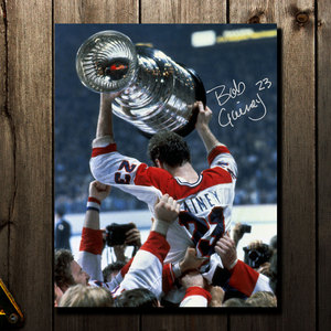 Bob Gainey Montreal Canadiens STANLEY CUP CHAMPION Autographed 16x20