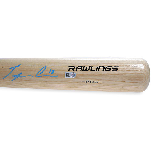 Photo of Detroit Tigers Tyler Collins Autographed Bat
