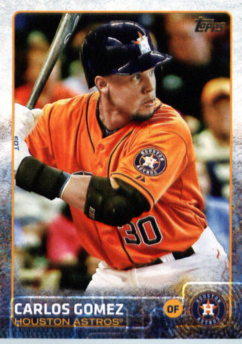 Photo of 2015 Topps Update #US107 Carlos Gomez