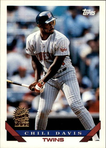 Photo of 1993 Topps Inaugural Marlins #455 Chili Davis