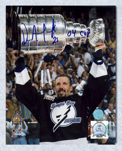 DAVE ANDREYCHUK Signed Tampa Bay Lightning 16x20 Photo