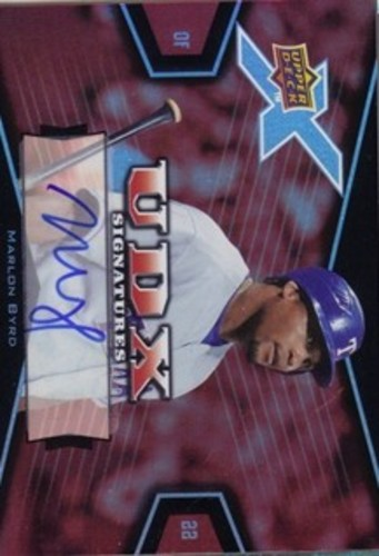 Photo of 2008 Upper Deck X Signatures #MB Marlon Byrd AUTO Autograph