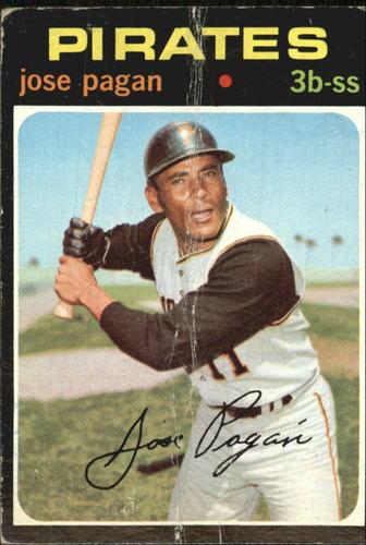 Photo of 1971 Topps #282 Jose Pagan