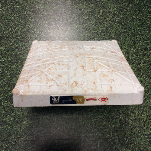 Photo of Game Used 3rd Base 08/14/16 - CIN@MIL - Ryan Braun 2 HR, 6 RBI Game