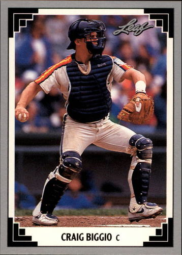 Photo of 1991 Leaf Previews #4 Craig Biggio