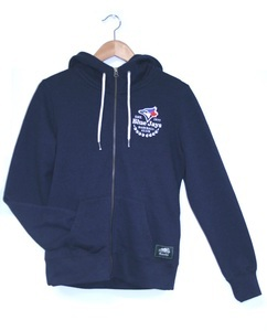 Roots Blue Iris F/Z Hoody Navy by Roots