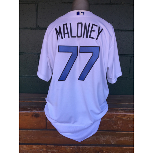 Cardinals Authentics: Chris Maloney Game Worn Father's Day Jersey