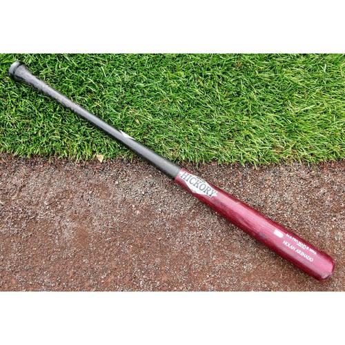 Photo of Colorado Rockies Nolan Arenado  Game-Used Bat.  3-5, HR, 2B.