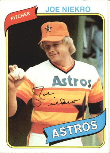 Photo of 1980 Topps #437 Joe Niekro