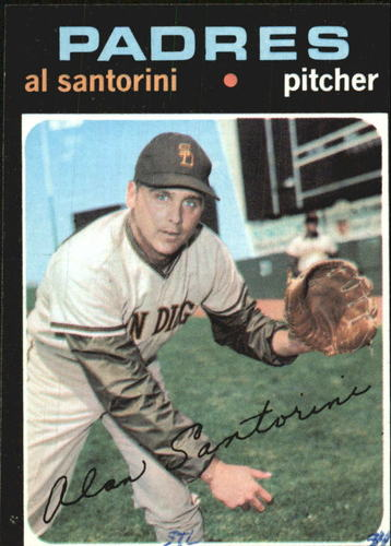 Photo of 1971 Topps #467 Al Santorini