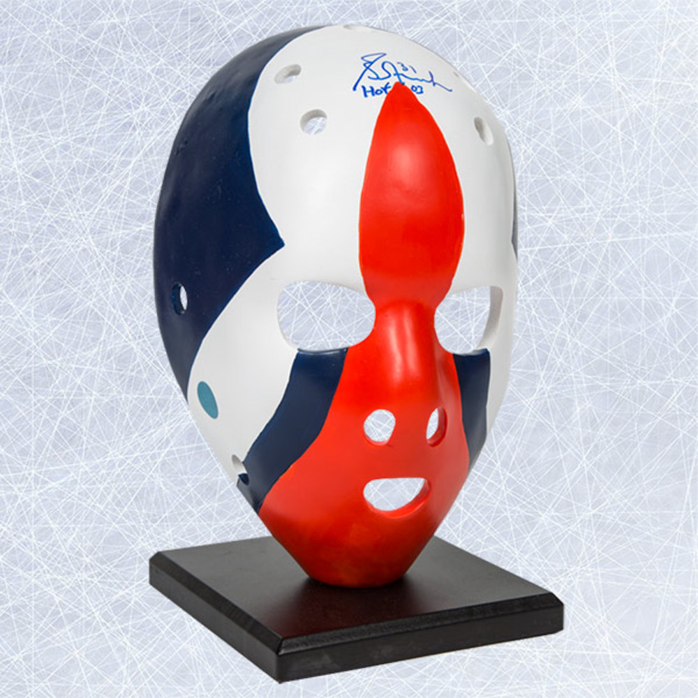 Grant Fuhr Edmonton Oilers Autographed Full Size Rookie Era Goalie Mask