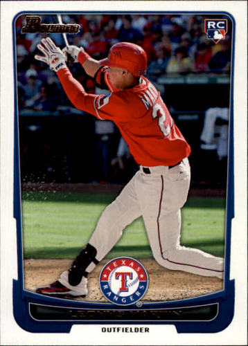 Photo of 2012 Bowman #203 Leonys Martin Rookie Card -- Cubs post-season