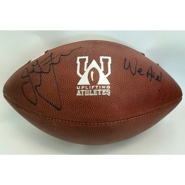 Autographed 2018 Penn State Blue-White Game-Used Football To Benefit Uplifting Athletes (D)