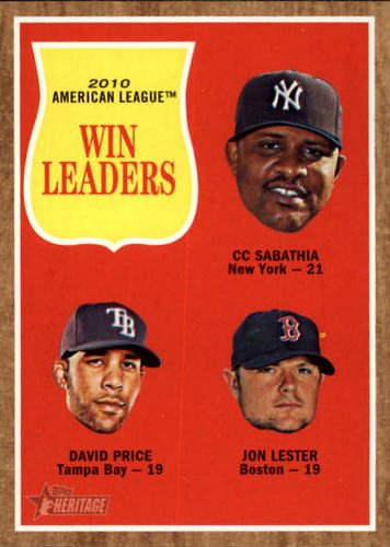 Photo of 2011 Topps Heritage #57 CC Sabathia/David Price/Jon Lester