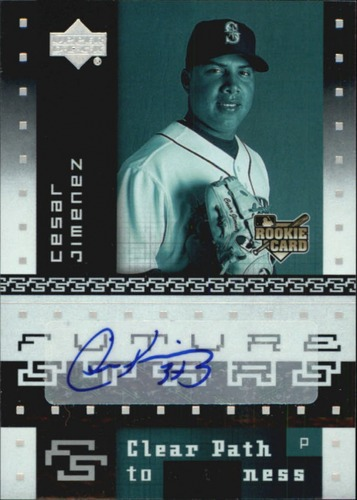 Photo of 2007 Upper Deck Future Stars #152 Cesar Jimenez AU RC