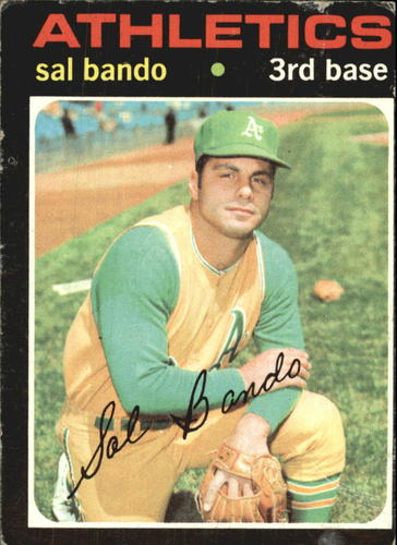 Photo of 1971 Topps #285 Sal Bando
