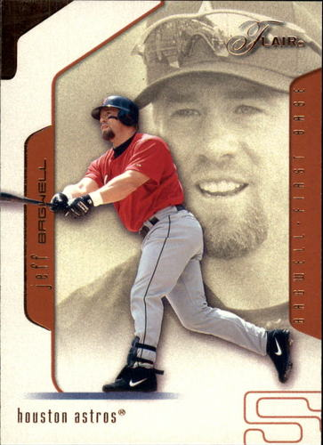Photo of 2002 Flair #64 Jeff Bagwell