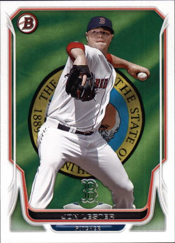 Photo of 2014 Bowman Hometown #98 Jon Lester Cubs post-season