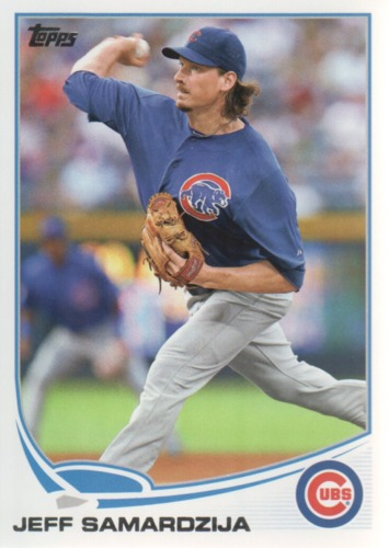 Photo of 2013 Topps #229 Jeff Samardzija
