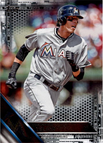 Photo of 2016 Topps Black #223 Christian Yelich