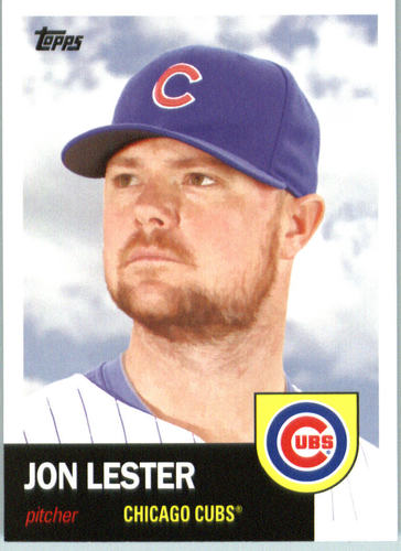 Photo of 2016 Topps Archives #75 Jon Lester Cubs post-season