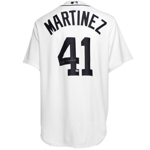 Detroit Tigers Victor Martinez Autographed Jersey