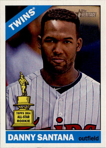Photo of 2015 Topps Heritage #347 Danny Santana