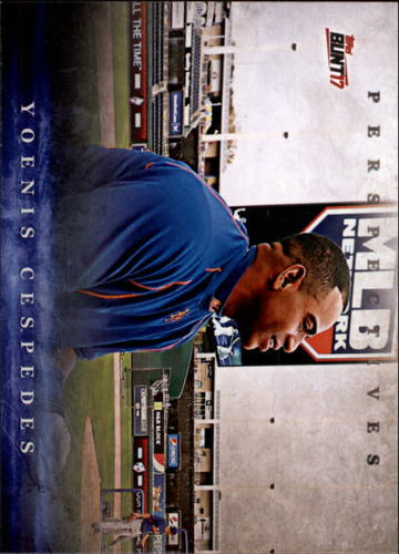 Photo of 2017 Topps Bunt Perspectives #PYC Yoenis Cespedes