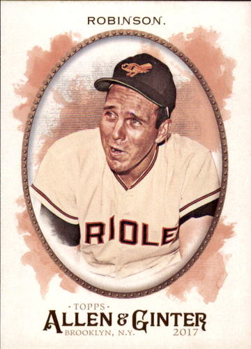Photo of 2017 Topps Allen and Ginter #217 Brooks Robinson