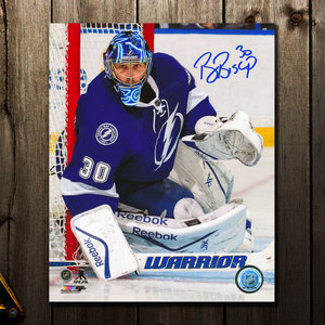 Ben Bishop Tampa Bay Lightning FOCUS Autographed 8x10