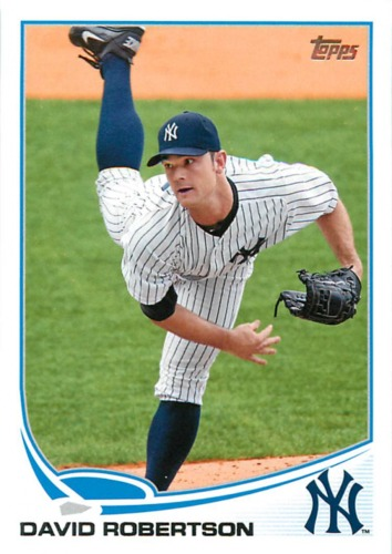 Photo of 2013 Topps #230 David Robertson