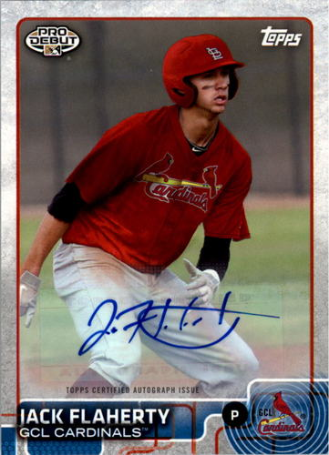 Photo of 2015 Topps Pro Debut Autographs #121 Jack Flaherty