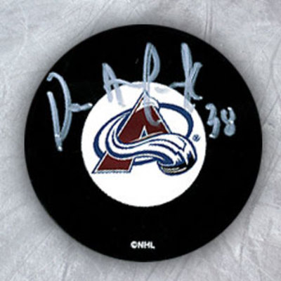 DAVE ANDREYCHUK Colorado Avalanche Autographed Hockey Puck