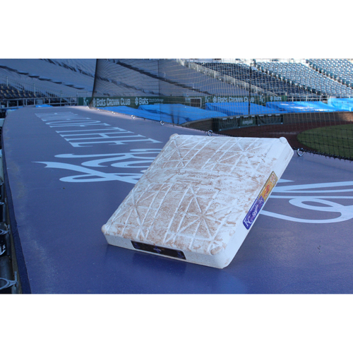 Photo of Game-Used 3rd Base: WSH at KC - May 2, 2016