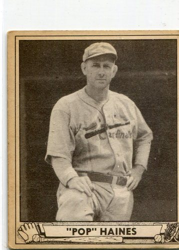 Photo of 1940 Play Ball #227 Jesse Haines -- Cardinals Hall of Famer