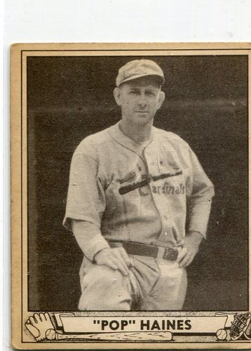 Photo of 1940 Play Ball #227 Jesse Haines -- Hall of Famer