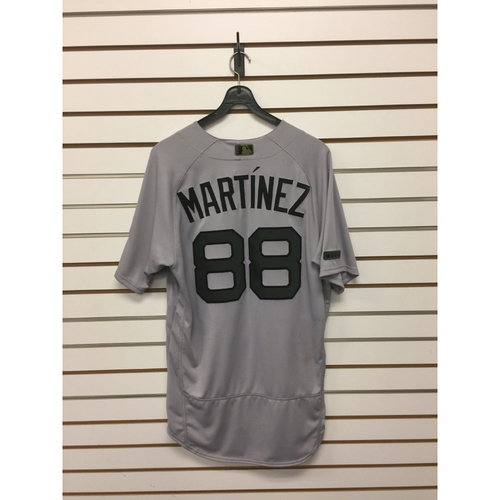 Photo of Mani Martinez Game-Used May 29, 2017 Memorial Day Road Jersey
