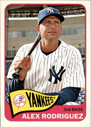 Photo of 2014 Topps Heritage #64 Alex Rodriguez