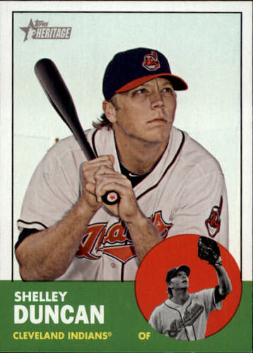 Photo of 2012 Topps Heritage #187 Shelley Duncan